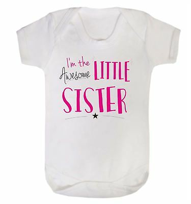 "Funny Baby T-Shirt /""If you think I/'m Cute see My Sister/"" Boy Girl Siblings"