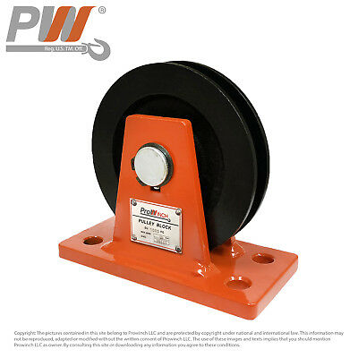 1 Ton Pulley ø125mm for ø10mm rope