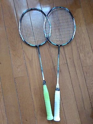 Two Victor Jetspeed S10 JS10 4U G5 Racquets for sale