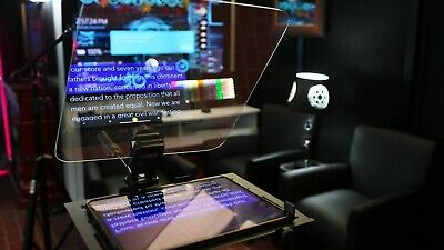 "11"" x 14"" Teleprompter Mirror - Optical Beamsplitter Mirror - 1/8"" Thickness"