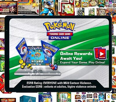 3PCK / BLISTER / PROMO Pokemon Online Code Cards ~ RAPID TCG Email Codes TCGO