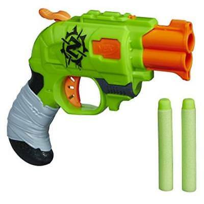 Outdoor Toy Nerf Zombie Strike Doublestrike Blaster Compact US SELLER New
