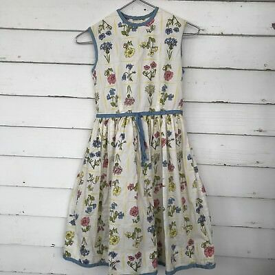 bb76934cbcb5 Girls Handmade Pastel Floral Dress Kids Size 6/8 M Tulle Tea Party Cute  Spring