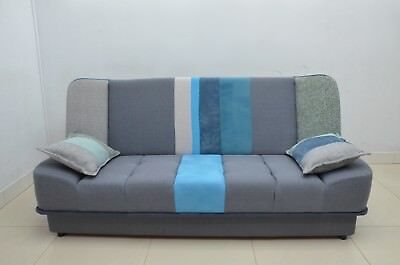 Unique Design, Sofa Bed Cairo, Click Clack, Storage And Springs, One And Only