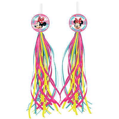 Disney Minnie Mouse Bicycle Bike Streamers Tricycle Kids Girls Handlebar Grips