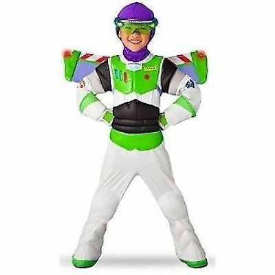 Toy Story 3 Disney Halloween Buzz Lightyear Costume Wings Space Ranger Toddller