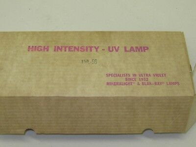 Vintage UVP Blak-Ray long wave ultra-violet lamp ULV-56 hand held new with box