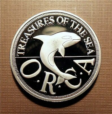 Principality Of Sealand - 1994  Orca Half Dollar Bu Proof, Roy I -   X#8.1  Mhi