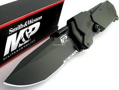 Smith & Wesson M&P LARGE MAGIC Assisted Opening Knife Glass Breaker SWMP9BS