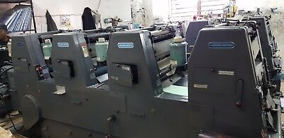 Heidelberg GTO 46 4 colour machine machine