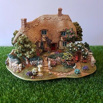 Lilliput Lane L2410 The Enchanted Garden 2001 Collectors' Club 15th Anniversary