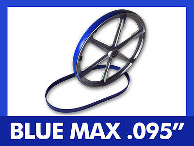 "Blue Max Heavy Duty Urethane Band Saw Tires For King Canada 9"" Band Saw"
