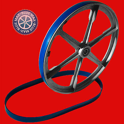 """2 Blue Max Ultra Duty Urethane Band Saw Tires For Sparkomatic 14"""" Band Saw"""