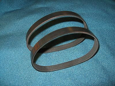 "2 New Drive Belts Made In Usa For Grizzly G8794  12 1/2"" Planer"