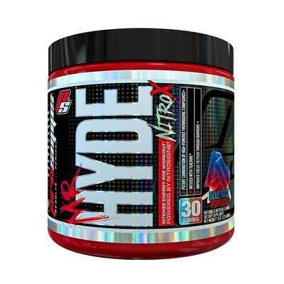 Mr. Hyde NitroX Prosupps High Stim Pre Workout Muscle Pumps Energy Focus Nitro X