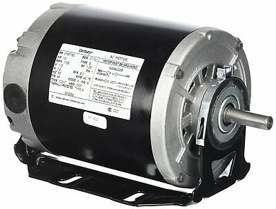 Electric Motor 1/2 hp 1725 RPM 115 volts, 48/56 Frame, ODP Belt Drive Blower NEW