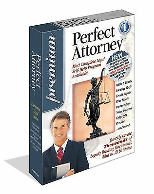 Perfect Attorney Premium - PC Lawyer Software - New