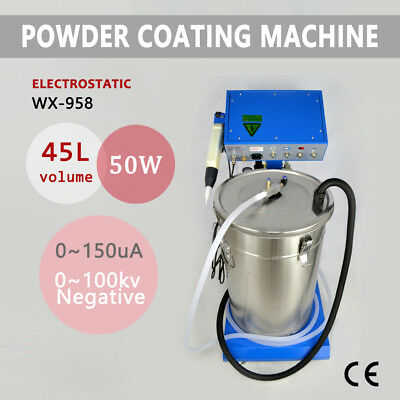 110V Powder Coating WX-958 Electrostatic Machine & Spraying Gun