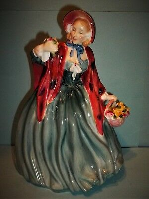 "Royal Doulton  ""Lady Charmian""Figurine~8 1/2"" Tall~HN 1948~TEAL Dress-MINT"