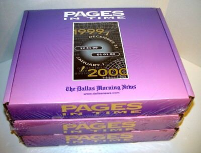 Pages In Time The Dallas Morning News Y2K Millennium Commemorative Edition