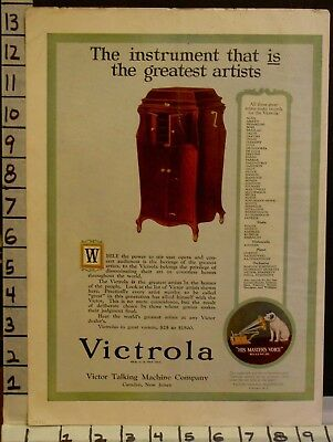 1920 Victor Victrola Phonograph Music Instrument Opera Camden Nj  2308023080