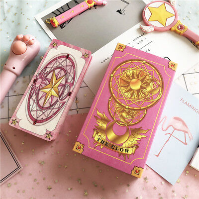 1Set/56Pcs Japan Anime Card Captor Sakura Clow Cards Collections Gift New