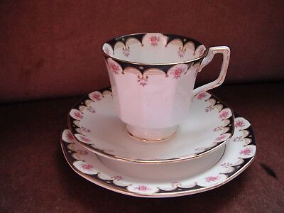 Queens Trio Made in England fine Bone China