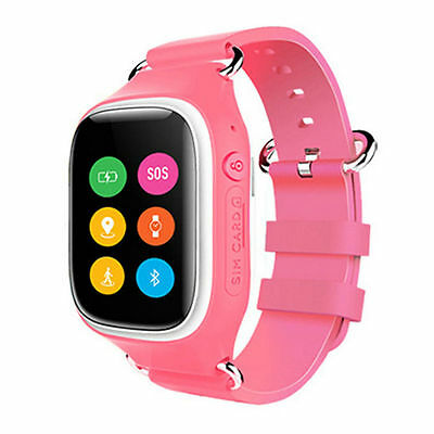 bunt touch screen anruf smartwatch kinder uhr gps tracker. Black Bedroom Furniture Sets. Home Design Ideas