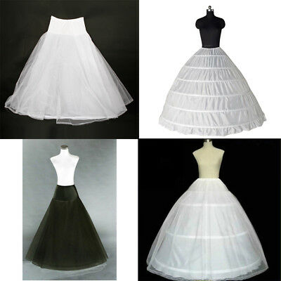New Wedding Ball Gown Crinoline Bridal Dress Petticoat Skirt Underskirt