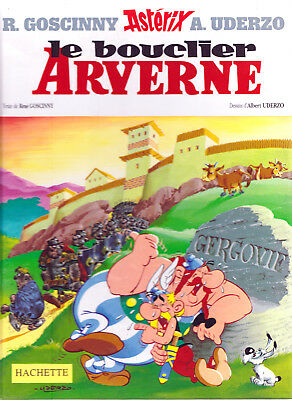 Asterix Le Bouclier Arverne by R. Goscinny & A. Uderzo (Hardback 2000) IN FRENCH