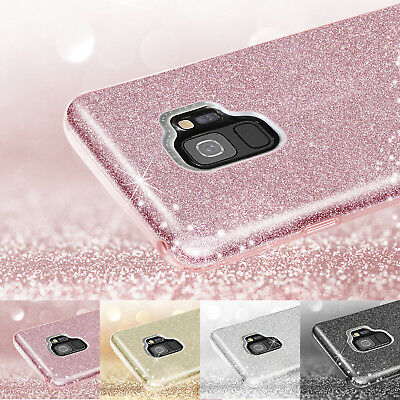 For Samsung Galaxy S9 / S9 Plus Case Bling Glitter Sparkle Soft Rubber TPU Cover
