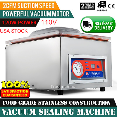 Commercial Vacuum Sealer Machine Sealing Packaging Packing Home Kitchen Food Us
