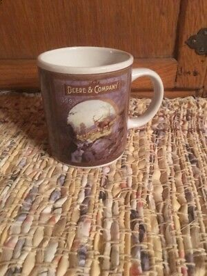 Deere Collectible  Gibson  Coffee Mug 1899 Excellent Co !!