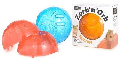 Hamster Gerbil Exercise Ball 17cm Zorb'n'Orb Play Toy Cage Sharples 'n'Grant