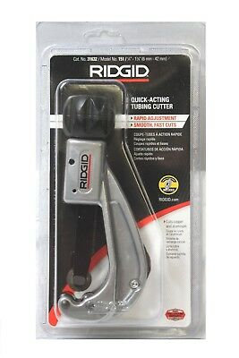 Ridgid 31632 Model 151 Quick-Acting Tubing Cutter