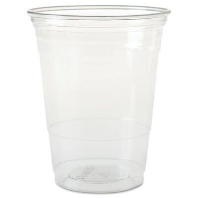 SOLO Cup Company Plastic Party Cold Cups 16 oz Clear 50 pack