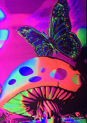 Art Print POSTER / CANVAS Generic Magic Valley Trippy Mushrooms8