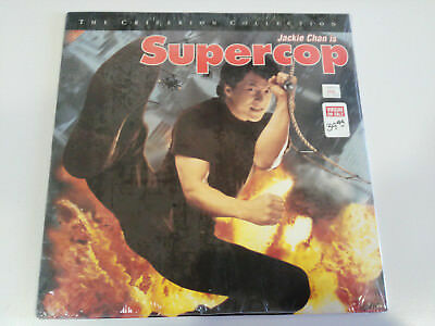 Supercop Jackie Chan Criterion Collection Laserdisc Ld Laser Disc New Nuevo