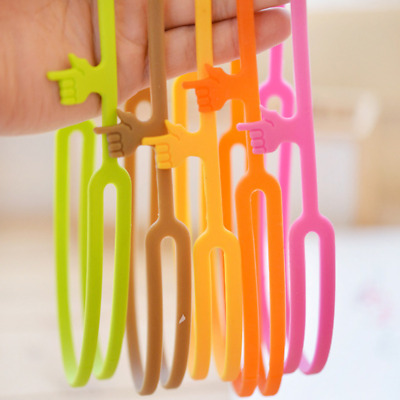 Bookmark Practical Office Supply Silicone Finger Point Pointing Book Marker