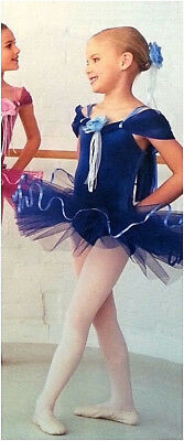 Adult Extra Large New Blue Rosetta Ballet Tutu Dance Costume