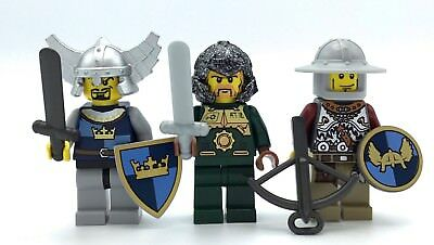 Pirates Lot of 6 Skeleton Crew Minifigs with Swords Weapon! ☆NEW☆ Lego Castle