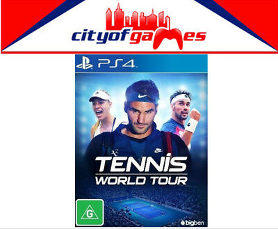 Tennis World Tour PS4 Game New & Sealed In Stock