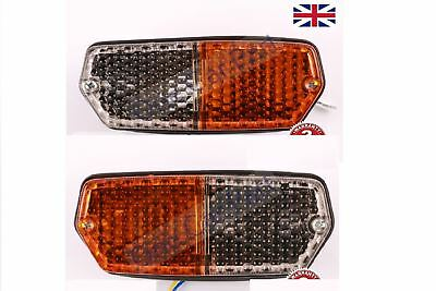 PAIR Fiat 450,480,500,540,550,600,650,750,850,900 Tractor Front Side Light Lamp