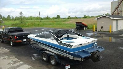 1988 bayliner cobra 2250 cuddy with trailer