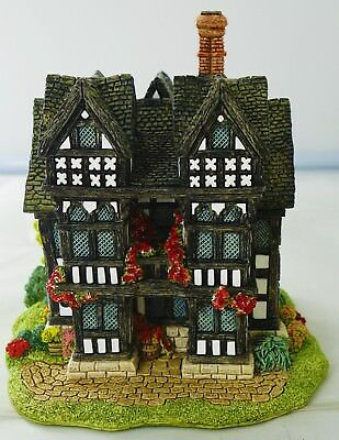 """Lilliput Lane The Priest's House With Box and Deeds - 5.25"""" Tall - I448"""