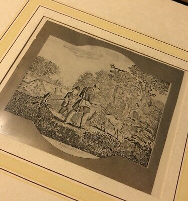 1700-1800's Authentic Original Artwork Paper Engravings Print Decor Rare? 2