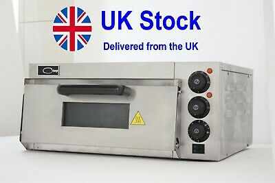 """NEW Commercial Pizza Oven Stone Base 16""""  Electric single phase"""