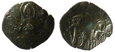 Byzantine Andronicus II Palaeologus AE Trachy Constantinople mint