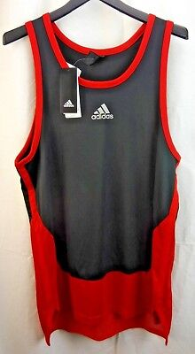 2966bece2ae24 ADIDAS FOUNDATION MEN S Basketball Tank Top Blue or Red -  27.97 ...