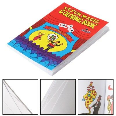 LOT OF 5 Children Clown Comedy & Magic Coloring Books Party ...